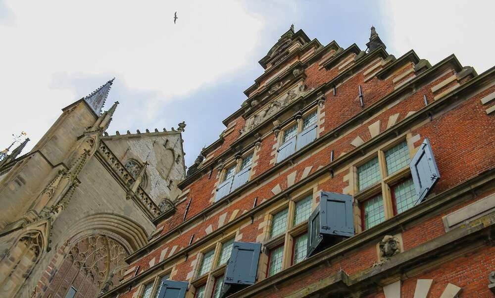 Interesting buildings in Haarlem