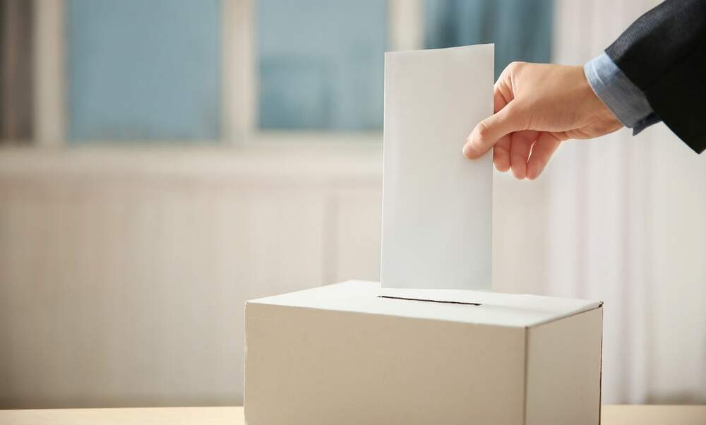 Voting in the upcoming municipal election in the Netherlands