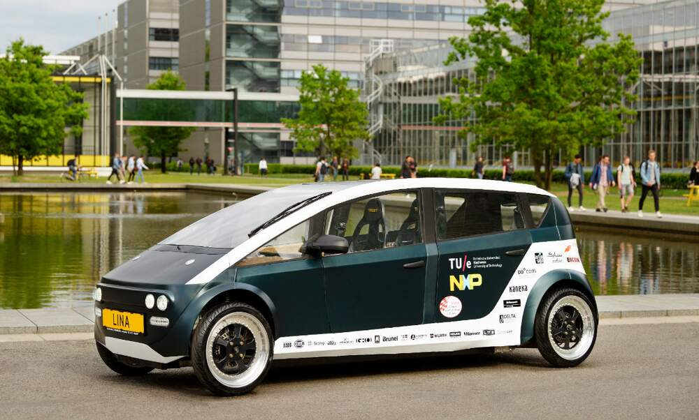World's first car made from plants