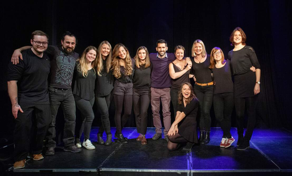 Meet Act Attack, the new English speaking theatre group in Amsterdam!