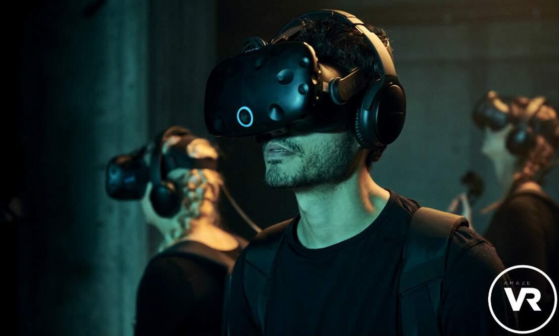 Win a virtual reality escape room session at AmazeVR