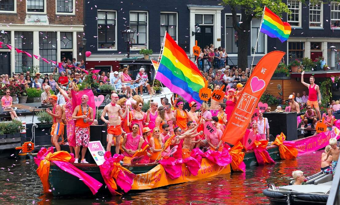 Pride Amsterdam to go ahead without canal parade