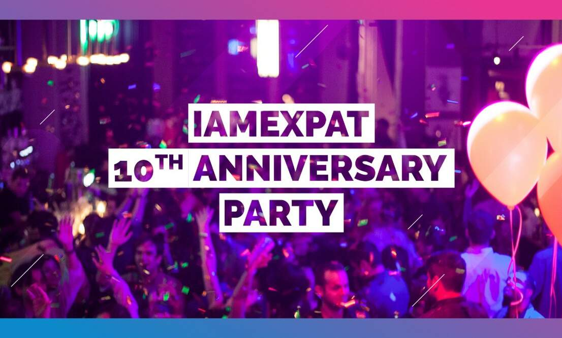 Win tickets to IamExpat's 10th Anniversary Party