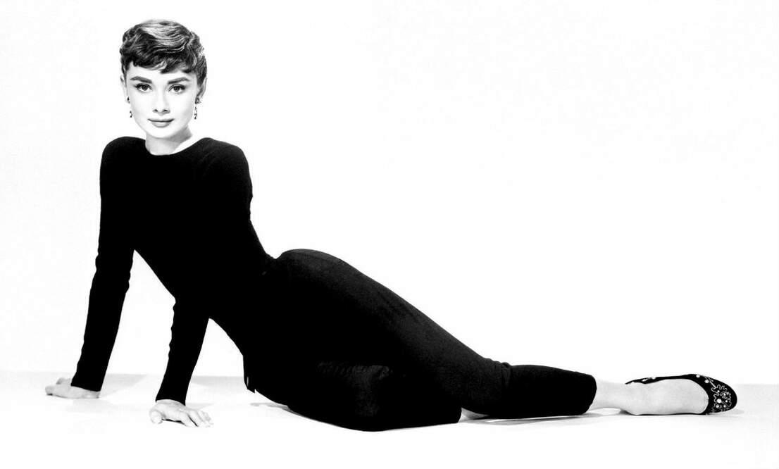 Young Audrey Hepburn in the Netherlands