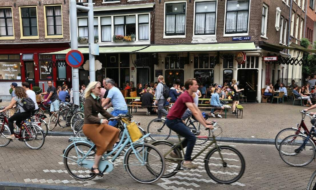 [Video] The most dangerous places to bike in Amsterdam