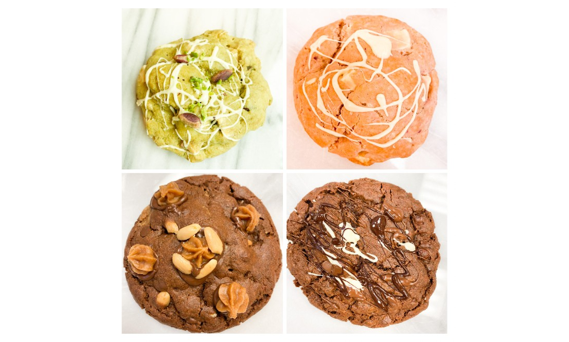 Handmade American style cookies delivered to your doorstep!