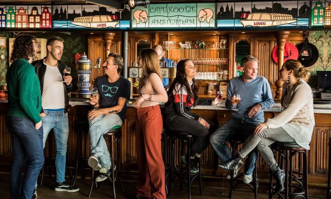 Delirium Café: One of the largest craft beer bars in Amsterdam