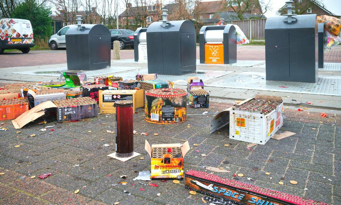 Plans to ban firecrackers in the Netherlands