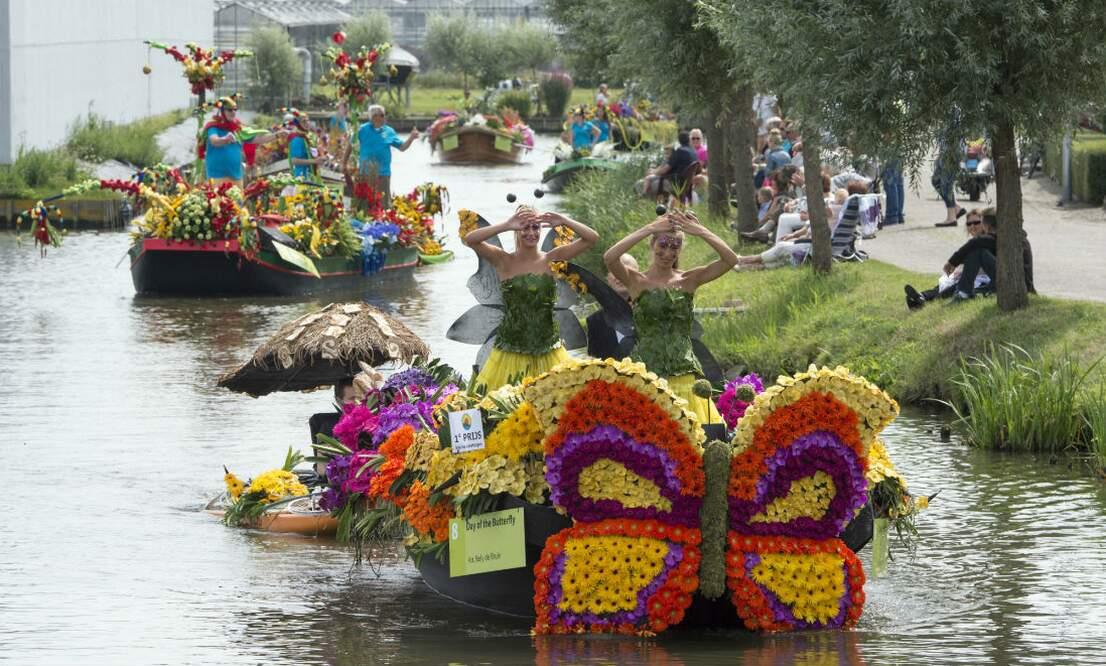 Floating Flower Parade