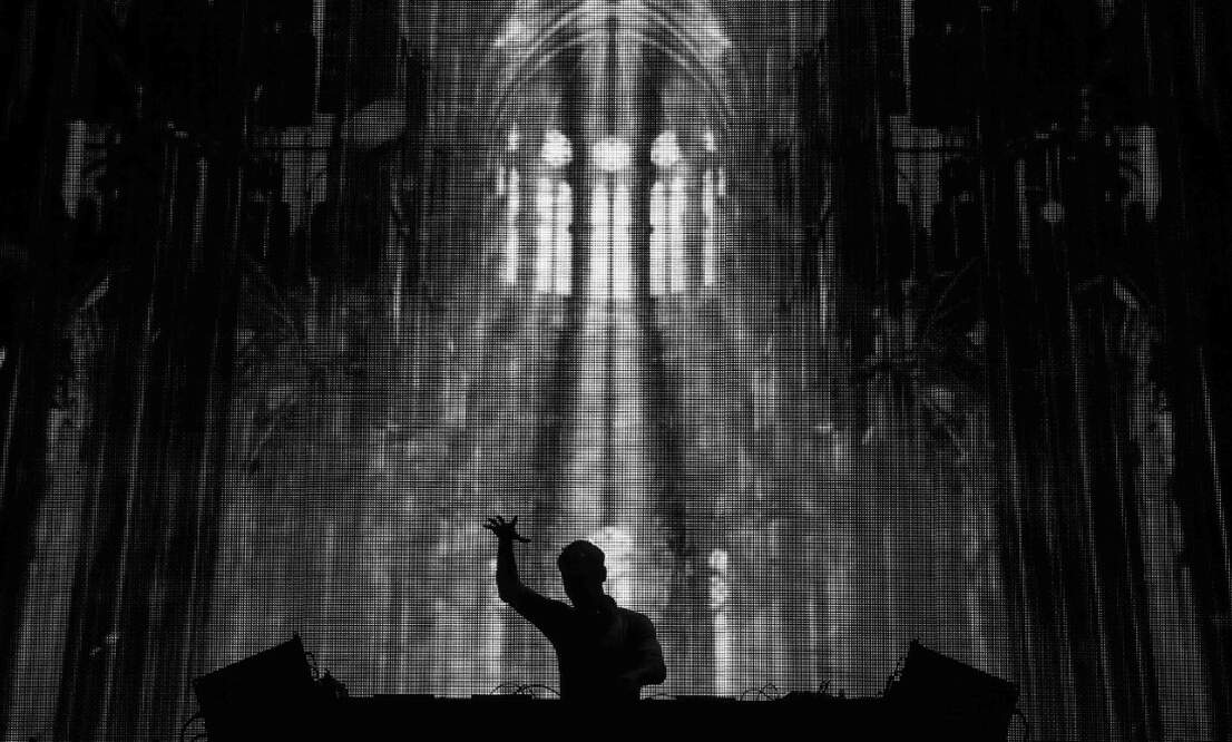 Electronic dance music photography exhibition in Maastricht