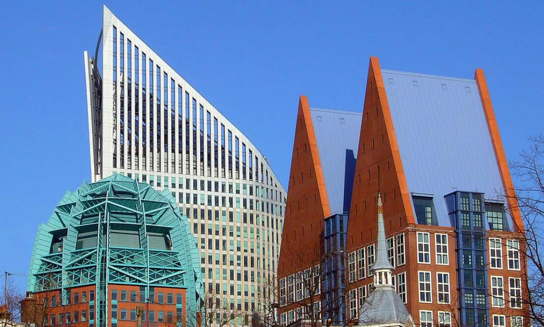 Interesting buildings in The Hague