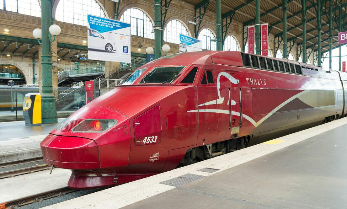 From Amsterdam directly to Disneyland Paris on the high-speed train