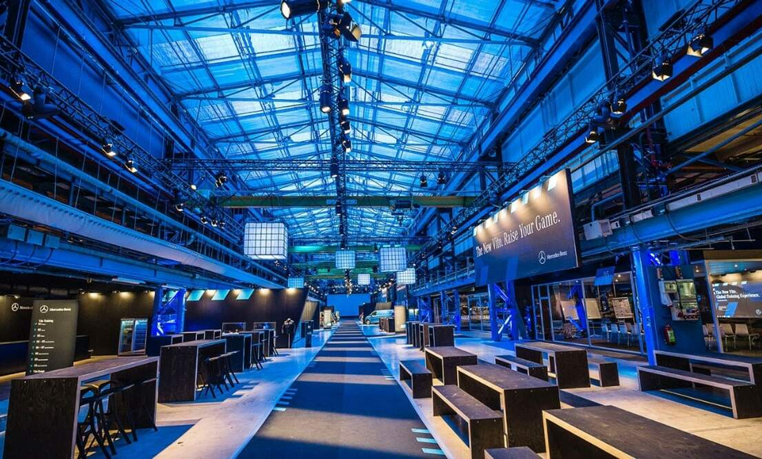 Top 5 coolest industrial locations in Amsterdam