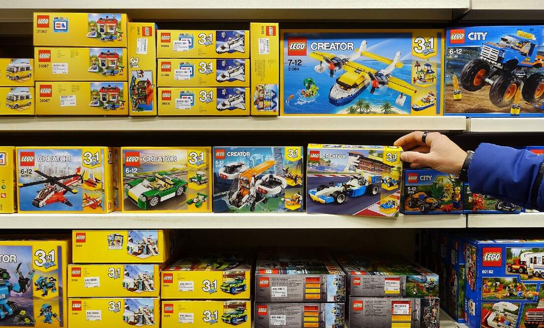 The LEGO® Store in Amsterdam