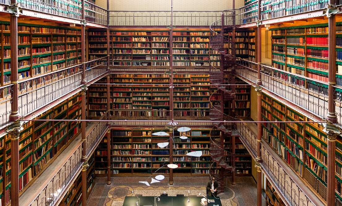 Where can you find the best library in the Netherlands?