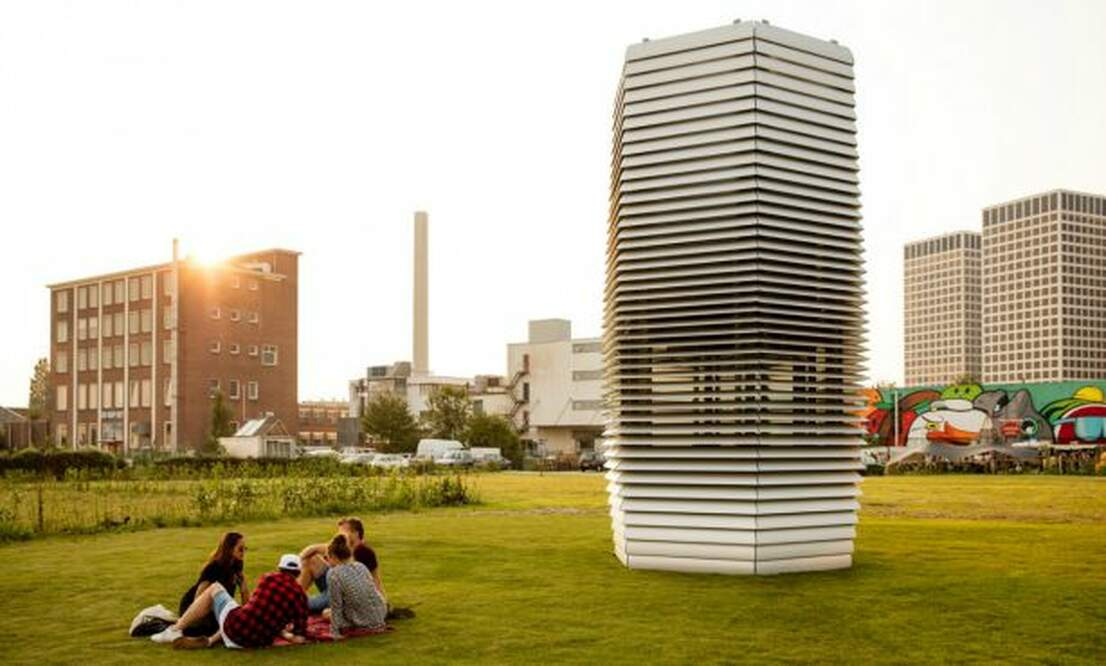 Smog Free Tower launched in Rotterdam