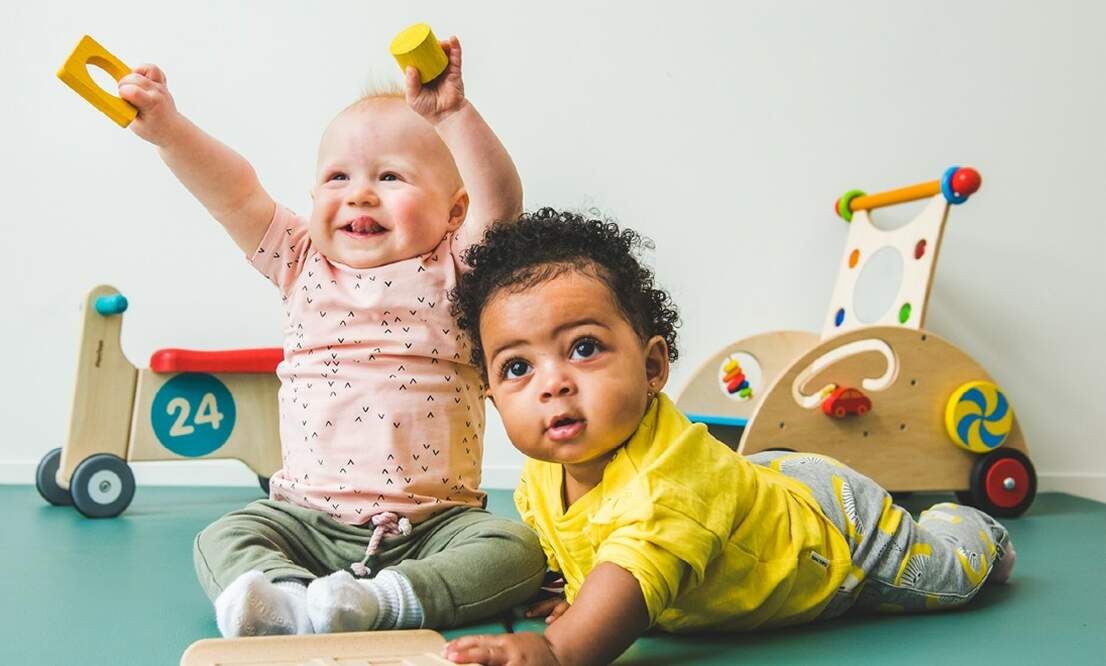 Partou: Challenging babies through play