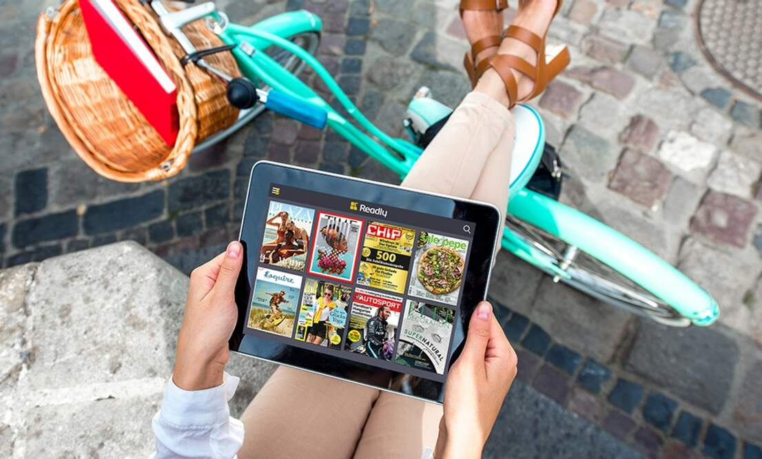 Read your favourite magazines from back home on Readly