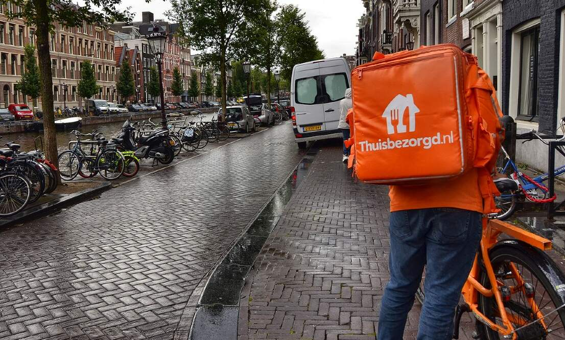 Uit eten: Thuisbezorgd launches new delivery option for terraces
