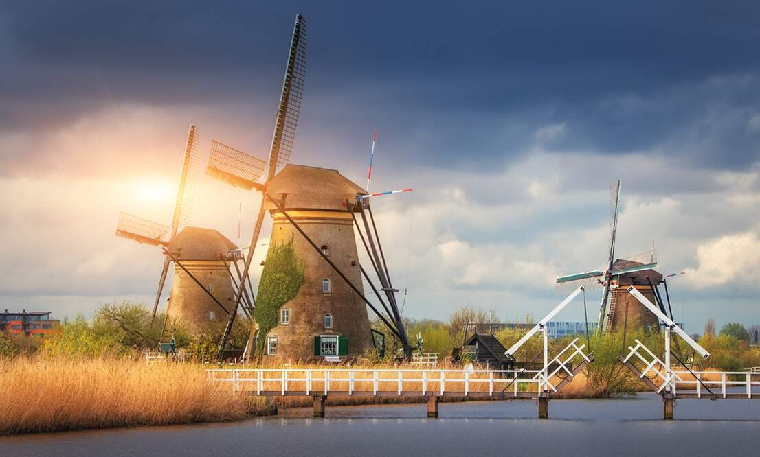 World Heritage Monuments in the Netherlands