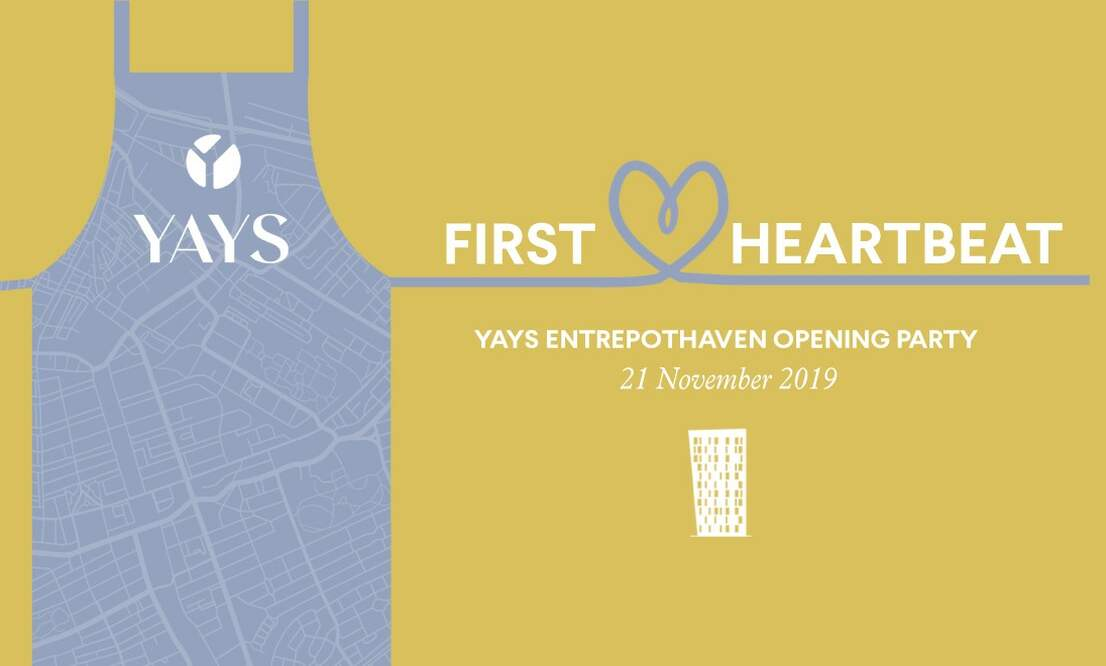 Win tickets to Yays First Heartbeat, the launch party of Yays Entrepothaven