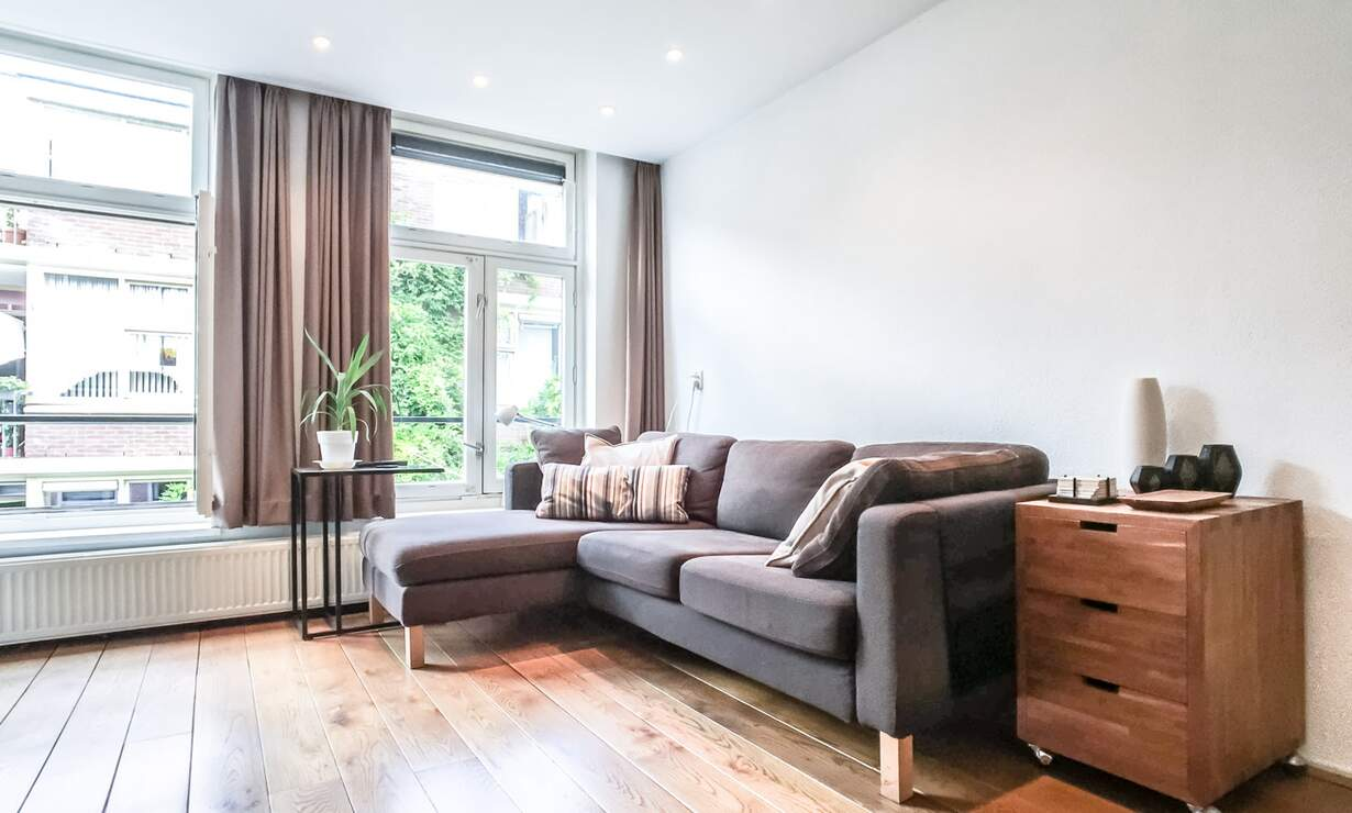 NEW: €1,475 / 1br - 55m2 - Furnished 1 Bedroom Apartment from 1 May (Amsterdam Jordaan) - Upload photos