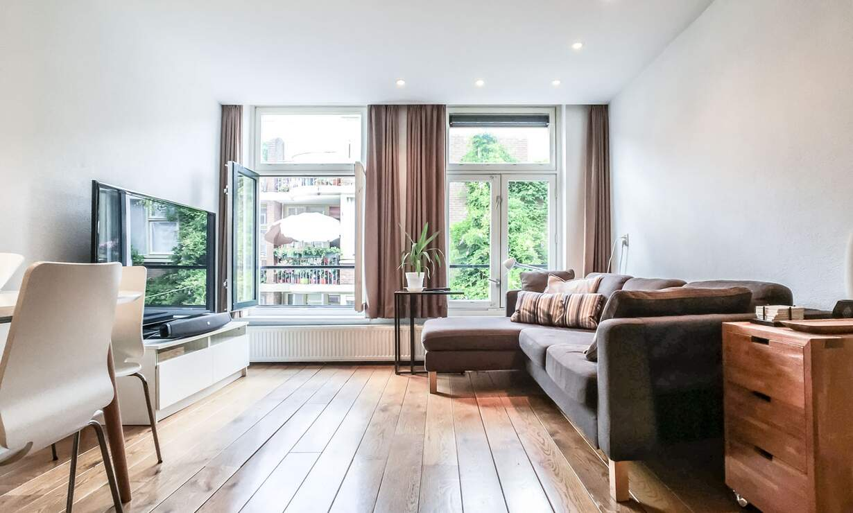NEW: €1,475 / 1br - 55m2 - Furnished 1 Bedroom Apartment from 1 May (Amsterdam Jordaan) - Upload photos 2