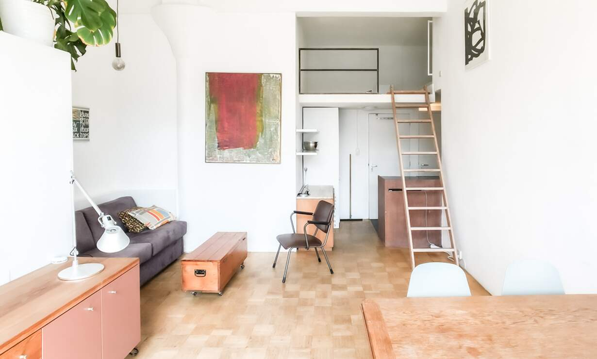 €1,250 / 1br - 30m2 - Furnished Studio Apartment Available Now to 1 Person (Amsterdam Jordaan) - Upload photos 7