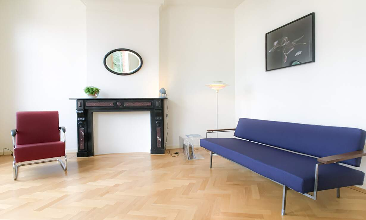 €1,675 / 1br - 70m2 - Furnished 1 Bedroom Apartment Available Now (Amsterdam Vondelpark / Museumqwartier) - Upload photos