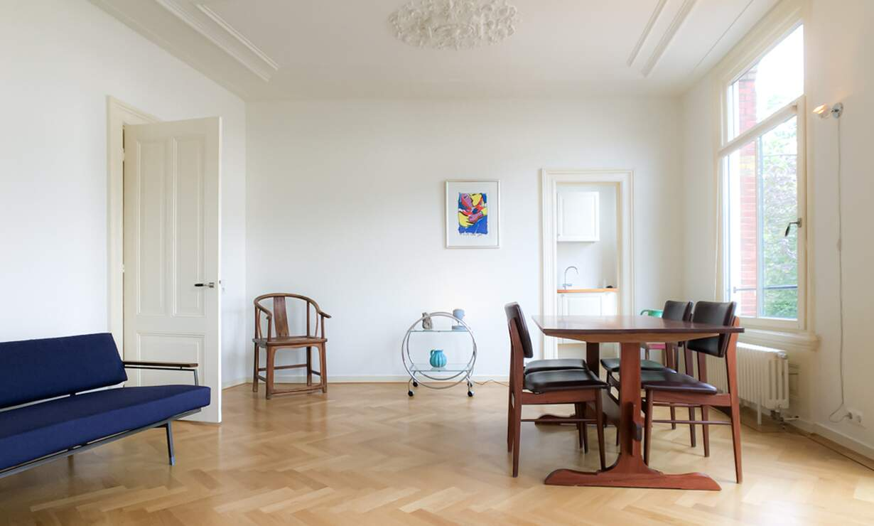 €1,675 / 1br - 70m2 - Furnished 1 Bedroom Apartment Available Now (Amsterdam Vondelpark / Museumqwartier) - Upload photos 3
