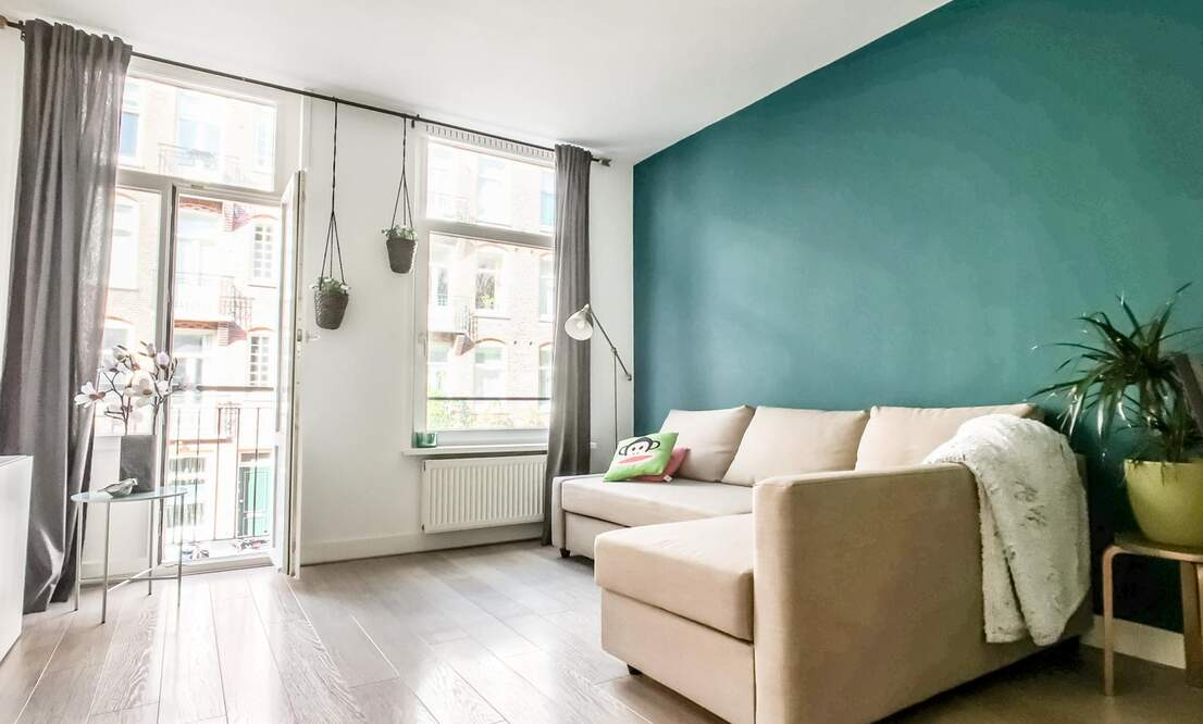 €1.375 / 1br - 50m2 - Furnished 1 Bedroom Apartment Available 1 August (Amsterdam Westerpark) - Upload photos