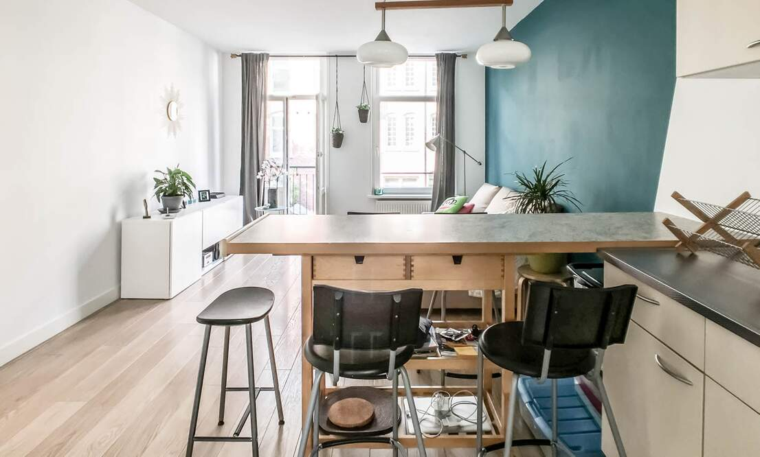€1.375 / 1br - 50m2 - Furnished 1 Bedroom Apartment Available 1 August (Amsterdam Westerpark) - Upload photos 8