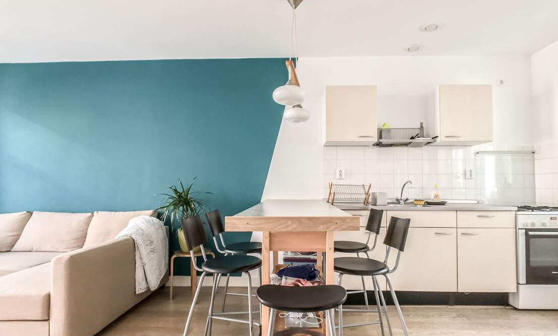 €1.375 / 1br - 50m2 - Furnished 1 Bedroom Apartment Available 1 August (Amsterdam Westerpark) - Upload photos 7
