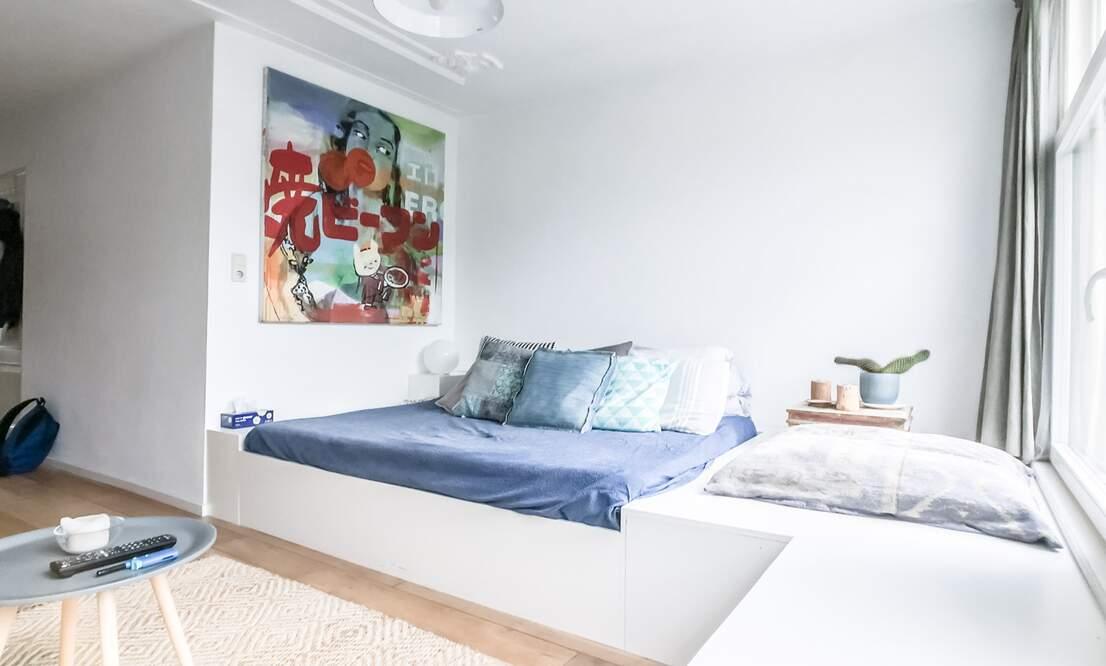 €1,350 / 45m2 - Furnished Studio Apartment (Amsterdam Old West) - Upload photos 2