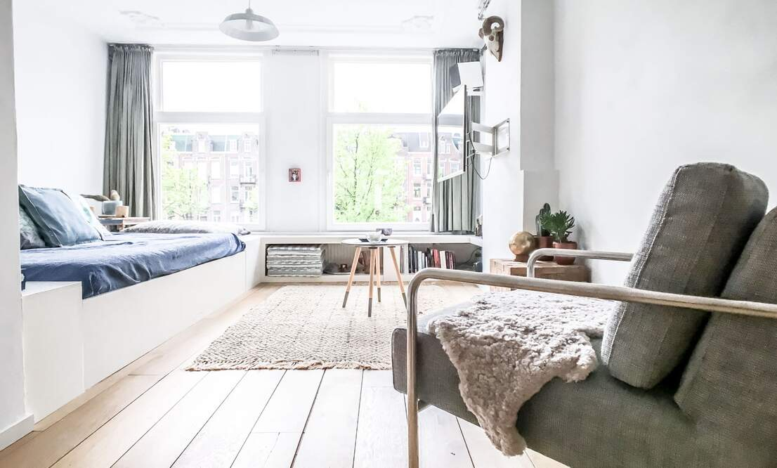 €1,350 / 45m2 - Furnished Studio Apartment (Amsterdam Old West) - Upload photos 4