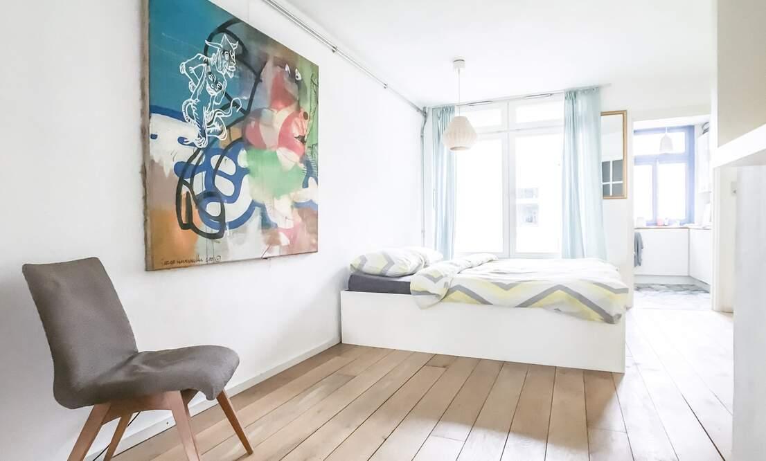 €1,350 / 45m2 - Furnished Studio Apartment (Amsterdam Old West) - Upload photos 6