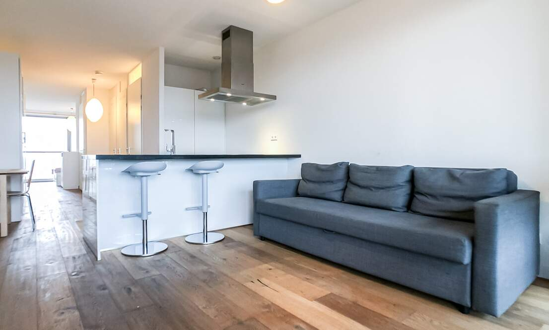 €1.350 / 50m2 - Furnished Open Plan Apartment Available Now (Amsterdam Houthavens) - Upload photos