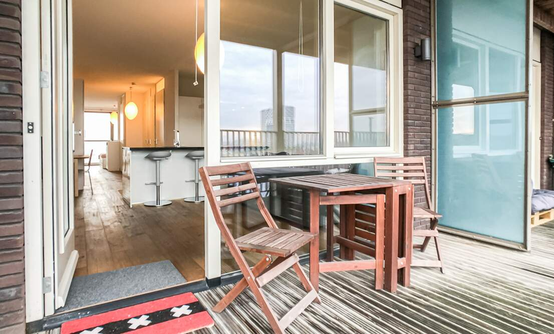 €1.350 / 50m2 - Furnished Open Plan Apartment Available Now (Amsterdam Houthavens) - Upload photos 17