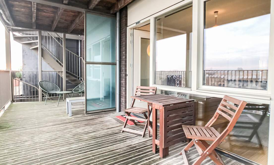 €1.350 / 50m2 - Furnished Open Plan Apartment Available Now (Amsterdam Houthavens) - Upload photos 18