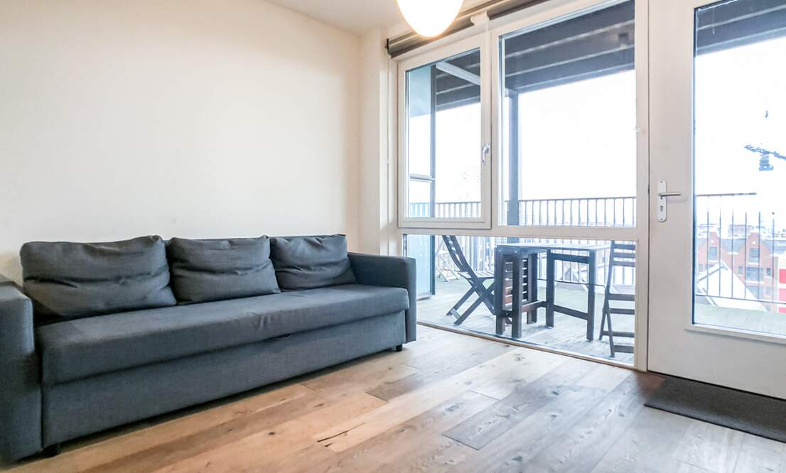 €1.350 / 50m2 - Furnished Open Plan Apartment Available Now (Amsterdam Houthavens) - Upload photos 3