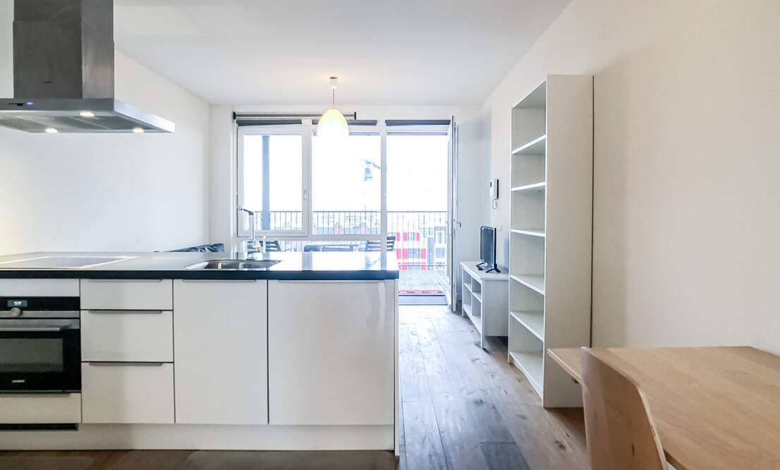 €1.350 / 50m2 - Furnished Open Plan Apartment Available Now (Amsterdam Houthavens) - Upload photos 6