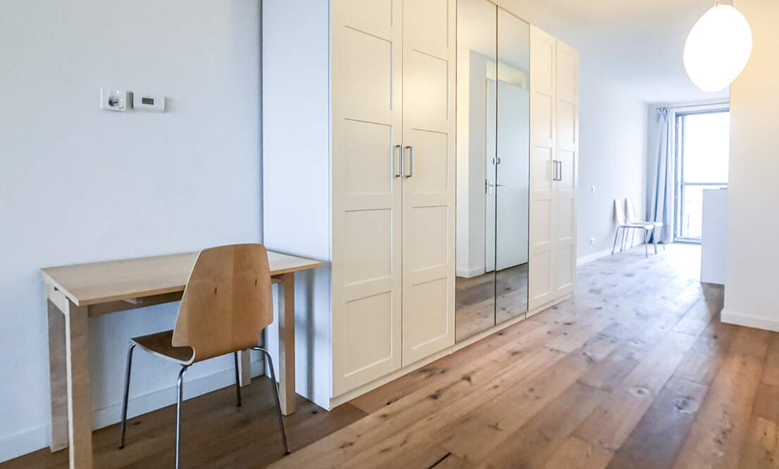 €1.350 / 50m2 - Furnished Open Plan Apartment Available Now (Amsterdam Houthavens) - Upload photos 7