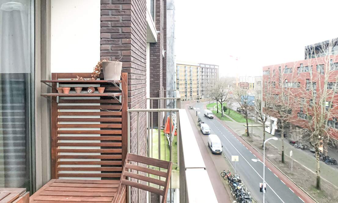 €1,350 / 50m2 - Furnished Studio Apartment Available Now (Amsterdam Houthavens) - Upload photos 10