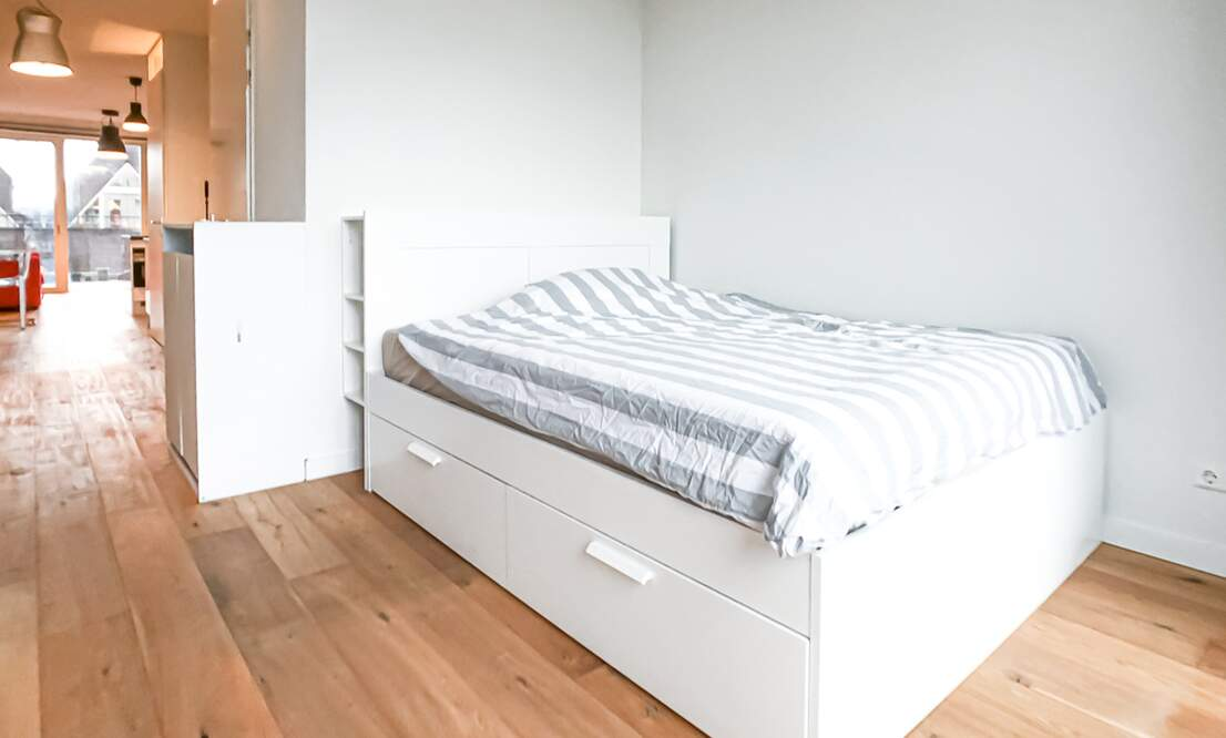 €1,350 / 50m2 - Furnished Studio Apartment Available Now (Amsterdam Houthavens) - Upload photos 5