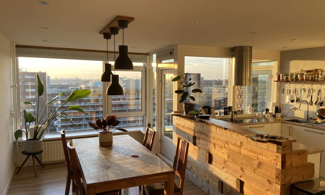 Spacious 2bedroom apartment with working space on 11th floor - Upload photos