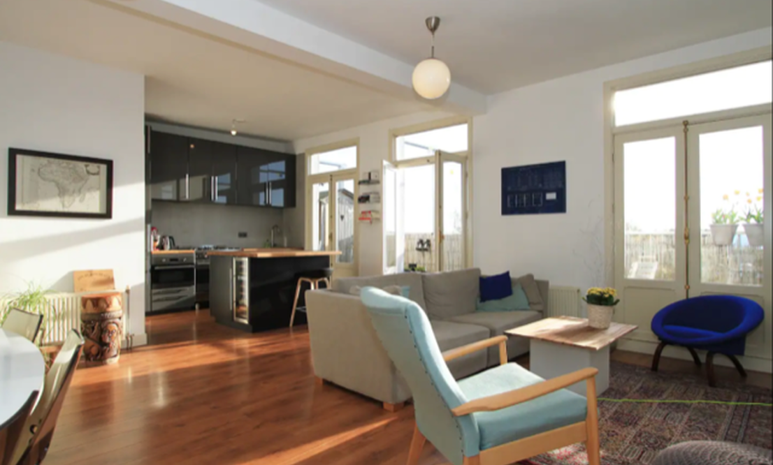 Fantastic Apartment with rooftop in Baarsjes/Bos en Lommer to Rent - Upload photos 4