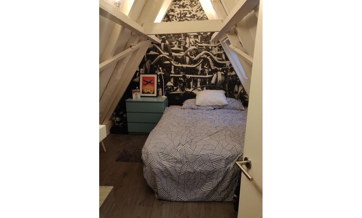 Nice bedroom available asap in Jordaan  - Upload photos 8