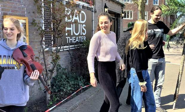 The Playgirl of the Western World | theatre play at Badhuistheater