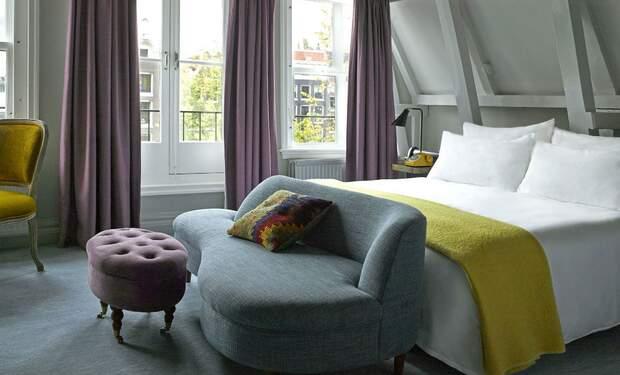 Amsterdam Hotel Night