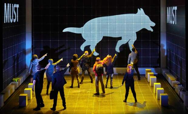 Curious Incident of the Dog in the Night Time by Brinkhoff Mogenburg